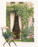 Click for more details of Our Garden View (cross stitch) by Lanarte