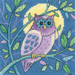 Click for more details of Owl (cross stitch) by Karen Carter