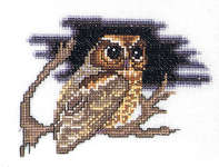 Click for more details of Owl (cross stitch) by Thea Gouverneur