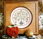 Click for more details of P is for pomegranate (cross stitch) by Heartstring Samplery