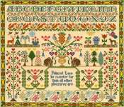 Click for more details of Pains of Love (cross stitch) by Bothy Threads