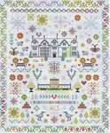 Click for more details of Paradise Found Sampler (cross stitch) by Riverdrift House
