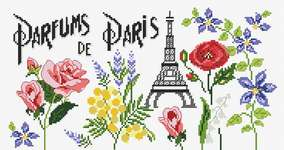 Click for more details of Parfums de Paris (cross stitch) by Princesse