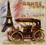 Click for more details of Paris (cross stitch) by Golden Hands