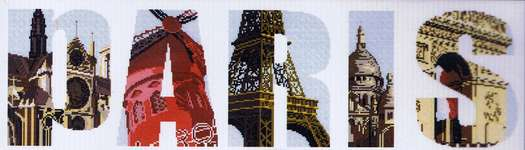 Click for more details of Paris (cross stitch) by Marie Coeur