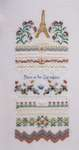 Click for more details of Paris in the Springtime (cross stitch) by Papillon Creations