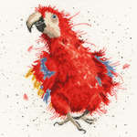 Click for more details of Parrot on Parade (cross stitch) by Bothy Threads