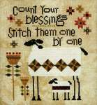 Click for more details of Patchwork Sheep (cross stitch) by Heart in Hand