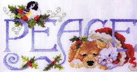 Click for more details of Peace for All (cross stitch) by Stoney Creek