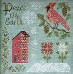 Click for more details of Peace on Earth (cross stitch) by Cottage Garden Samplings