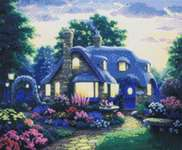 Click for more details of Peaceful Place (cross stitch) by Kustom Krafts
