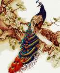 Click for more details of Peacocks (cross stitch) by Luca - S