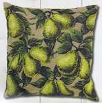 Click for more details of Pears Cushion Front (tapestry) by Permin of Copenhagen