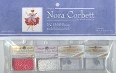 Click for more details of Peony Embellishment Pack (beads and treasures) by Nora Corbett