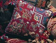 Click for more details of Persian Cushion Front (tapestry) by Glorafilia