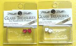 Click for more details of Petite Flat Heart Treasures (beads and treasures) by Mill Hill
