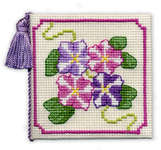 Click for more details of Petunias Needlecase (cross stitch) by Textile Heritage
