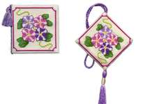 Click for more details of Petunias Stitcher's Accessories (cross stitch) by Textile Heritage