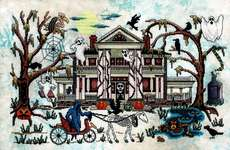 Click for more details of Phantom Plantation (cross stitch) by Glendon Place