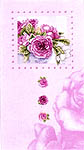 Click for more details of Pink Roses in a Frame (cross-stitch kit) by Marjolein Bastin