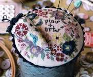 Click for more details of Pins & Orts Stitching Companion (cross stitch) by Heartstring Samplery