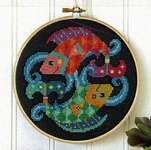 Click for more details of Pisces (cross stitch) by Satsuma Street