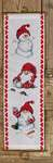 Click for more details of Playing in Snow Christmas Hanging (cross stitch) by Permin of Copenhagen