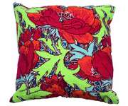Click for more details of Poppies Cushion Front (tapestry) by Glorafilia
