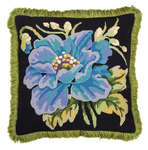 Click for more details of Poppy Cushion (tapestry kit) by Glorafilia