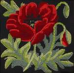 Click for more details of Poppy Mini Kit (tapestry) by Glorafilia
