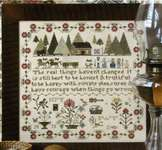 Click for more details of Prairie Life Sampler (cross stitch) by Heartstring Samplery