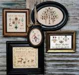 Click for more details of Precious Littles (cross stitch) by Heartstring Samplery