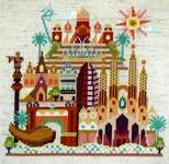 Click for more details of Pretty Little Barcelona (cross stitch) by Satsuma Street