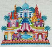 Click for more details of Pretty Little India (cross stitch) by Satsuma Street