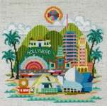 Click for more details of Pretty Little Los Angeles (cross stitch) by Satsuma Street