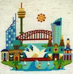 Click for more details of Pretty Little Sydney (cross stitch) by Satsuma Street