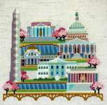 Click for more details of Pretty Little Washington DC (cross stitch) by Satsuma Street