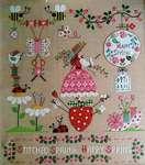 Click for more details of Primavera Ricamata (Embroidered Spring) (cross stitch) by Cuore e Batticuore
