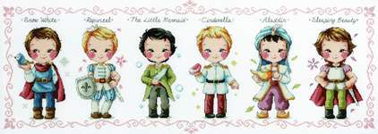 Click for more details of Prince Collection (cross stitch) by Soda Stitch
