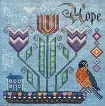 Click for more details of Promise of Spring (cross stitch) by Cottage Garden Samplings