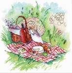 Click for more details of Provence Picnic (cross stitch) by MP Studios