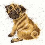 Click for more details of Pug (cross stitch) by Bothy Threads