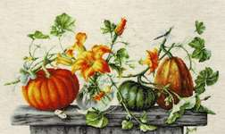Click for more details of Pumpkins (cross stitch) by Luca - S