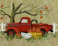 Click for more details of Pumpkins For Sale (cross stitch) by Stoney Creek