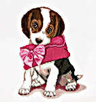 Click for more details of Puppy Love (cross stitch) by Thea Gouverneur
