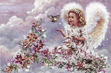 Click for more details of QS Reflections 4 (cross-stitch pattern) by Heaven and Earth Designs