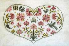Click for more details of Qua-Coeur (cross stitch) by Jardin Prive