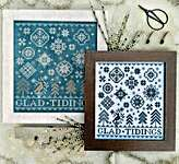 Click for more details of Quaker Snowflakes (cross stitch) by Hello from Liz Mathews