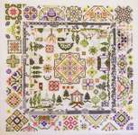 Click for more details of Quaker Village (cross stitch) by Rosewood Manor