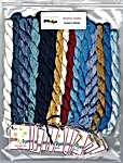 Click for more details of Queen's Medal Silk Pack (thread and floss) by Tempting Tangles Designs